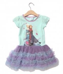 Frozen Tutu Turquoise Dress