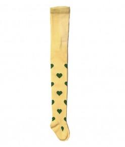 Heart Full Feet Legging - Yellow (2-7T)