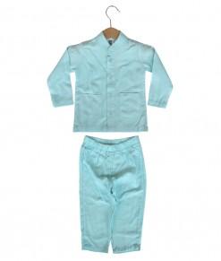Baby Koko Top + Pant - Turquoise