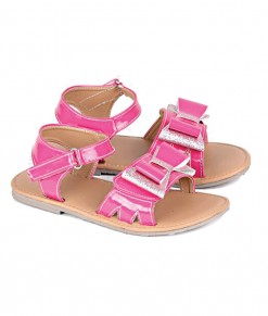 Metallic Pink Sandal